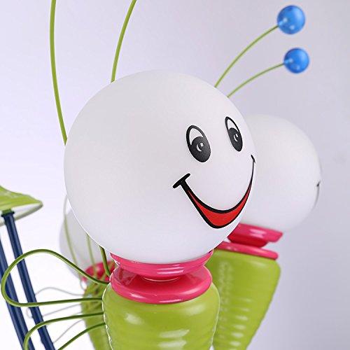 Kinderschlafzimmerlampe LED-Deckenleuchter kreative Cartoon junge Mädchen Kinder-Augen-Bee Kinderzimmer Lampen Beleuchtung ( größe : 4 ) - 4