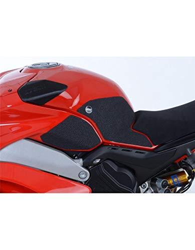 R&G RACING kit Grip de réservoir 4 pièces Noir Ducati Panigale v4