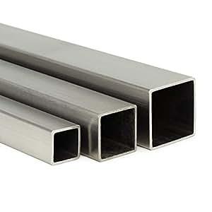 L: 2000mm auf Zuschnitt Edelstahl Vierkant VA V2A blank h11-8x8mm 200cm