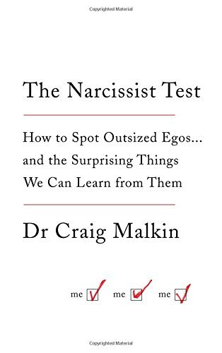 The Narcissist Test by Dr Craig Malkin (2015-07-16)