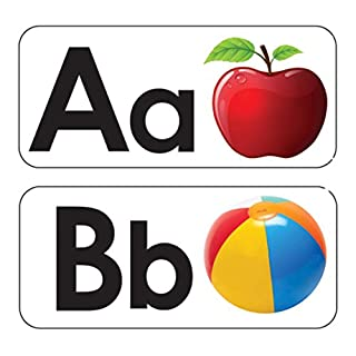Ashley Productions ASH40006 ABC Picture Words Double-Sided Magnets