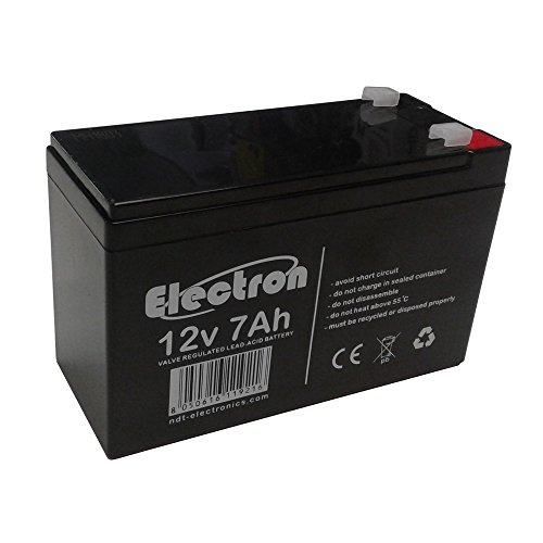 Batteria al piombo ricaricabile 12v 7ah 20hr per allarmi antifurti ups lampade di emergenza giocattoli peg perego 7,2ah 7,5ah