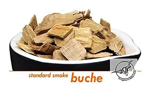 Longhorn BBQ Smoking Chips | standard smoke Buche | Räucherspäne