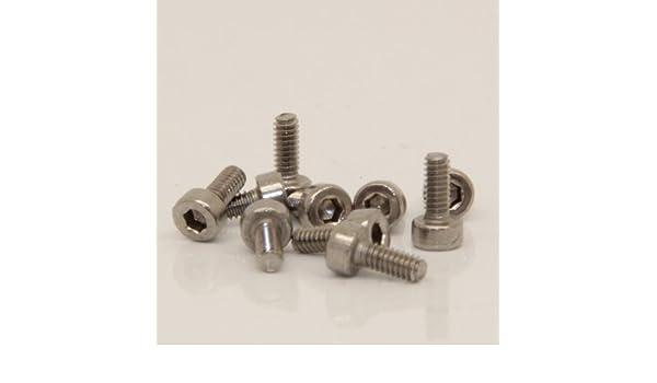Zylinderkopfschrauben M5 x 16 D2D VPE: 10 St/ück Edelstahl A2 V2A Zylinderschrauben mit Innensechskant DIN 912