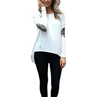 chic chic blouse l che femme t shirt casual tunique basique grande taille v tements. Black Bedroom Furniture Sets. Home Design Ideas