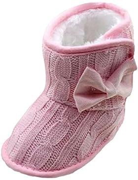 Schneestiefel Stricken Hirolan Baumwolle Wollgarn Schuhe Baby Krabbelschuhe Kinderschuhe Mädchen Kleinkind Winter...