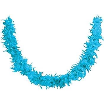 Boa Echarpe Plume Deguisement Synthetique 180cm Bleu Turquoise - 767 ... 3976773f125