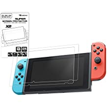 Pack of 2 Tempered Glass Screen Protectors for Nintendo Switch