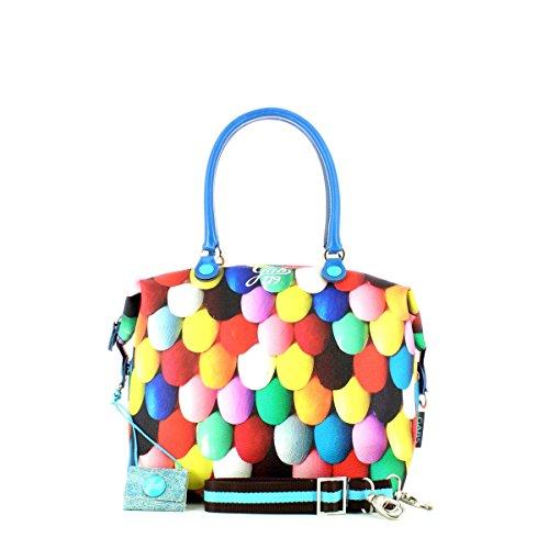GABS - G3, Borsa a mano Donna Stamp Multicolor