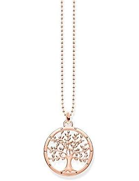 THOMAS SABO Damen Kette KE1660-415-40 925er Sterlingsilber; 750er Roségold Vergoldung Roségoldfarben