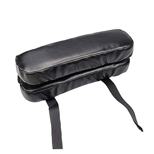 Hspan Armlehnenpolster für Rollstuhl, Ellenbogenschmerzen, Memory-Schaum, PU-Leder -