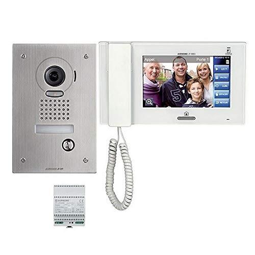 AIPHONE Video-Kit mit Anti-Diebstahlschutz mit Zoom & Speicher, Einbauplatine Aiphone Video