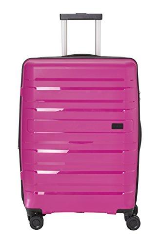 Travelite Kosmos 4 Rollen Hartschalenkoffer, 67 cm, 72/80 L, Pink -