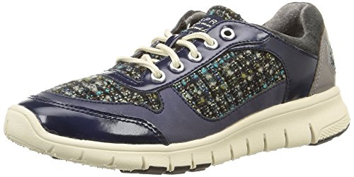 Esprit Delight, Damen Sneakers Blau (402 Navy 3)
