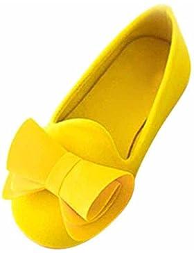hibote Moda Princess Ponerse Zapatos Chicas Caramelo Color Zapatos Chicas Sandalias Kids Zapatos Verano Flock...