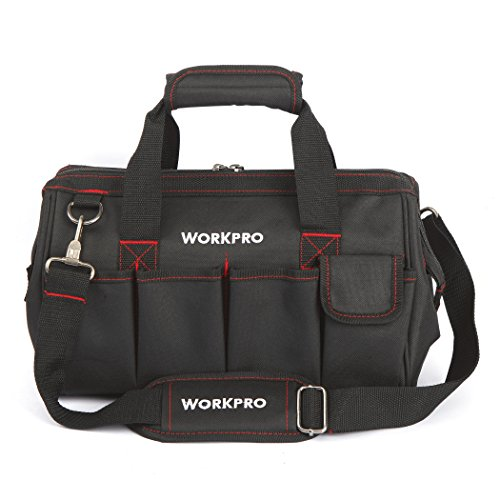 WorkPro W081021AU 14-Inch Wide Mouth Tool Bag by Pro Work
