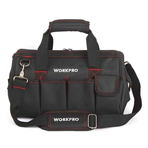 WORKPRO Close Top 35cm breit Mund Aufbewahrung Werkzeugtasche