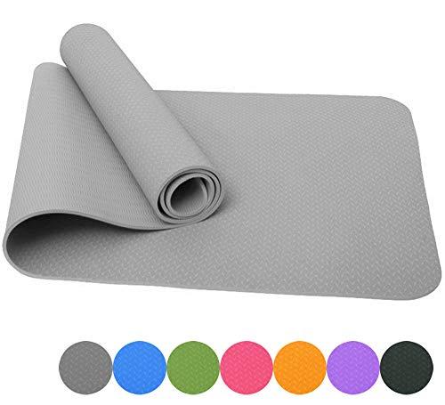 Good Times Yogamatte Gymnastikmatte Unterlegmatten rutschfest TPE hypoallergen hautfreundlich Fitnessmatte Sportmatte…