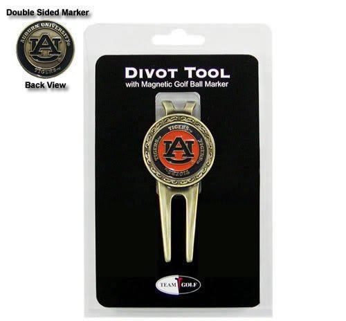 Auburn Divot Tool (Auburn Tigers Divot Tool and Ball Marker by Team Golf)