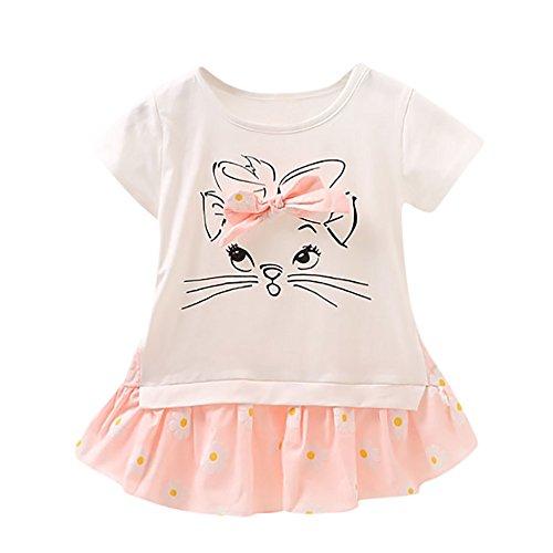 40d8c8675 feiXIANG Bebé recién Nacido Ropa Infantil Vestido de niña Bebé Niña ...