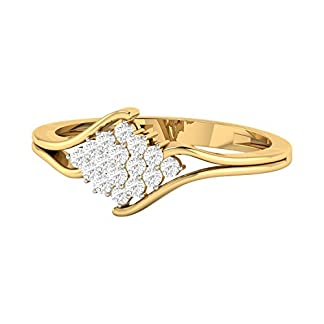 PC Jeweller The Alita 18KT Yellow Gold & Diamond Rings