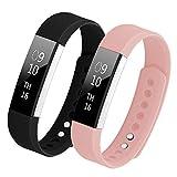 Hanlesi Armband für Fitbit Alta/Fitbit Alta HR, TPU Silikon Einstellbare Ersatz Sport Band für Fitbit Alta and Fitbit Alta HR
