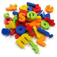 Deco Fleur Magnetic Letters Childrens Kids Learn Alphabet Toy Fridge Magnets