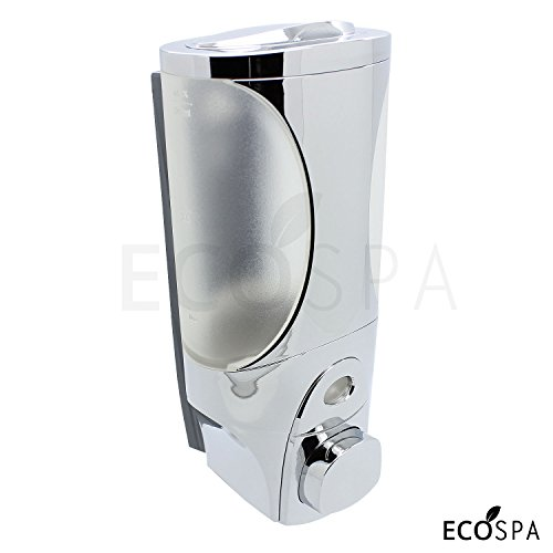 single-wall-mounted-chrome-bathroom-pump-soap-dispenser-for-soap-shower-gels-or-shampoo-by-ecospa