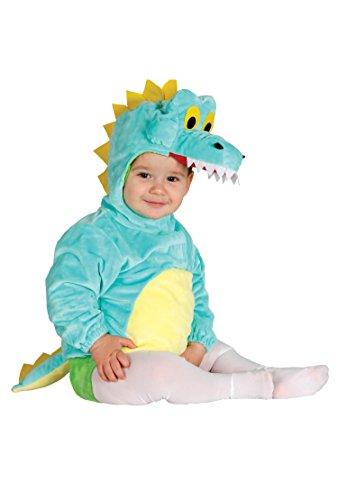 Guirca–Kostüm Baby Krokodil, Gr. 6-12Monate ()