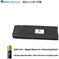 MiniTehnics® 16GB Registratore Audio Spia con Attivazione