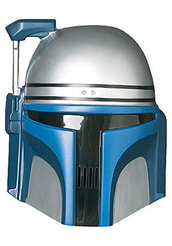 Jango Fett Star Wars-Maske aus PVC-Kunststoff