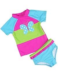 Bebé Trajes de baño Beachwear Camisetas Bañadores Vine (Edad 1 -6 años)
