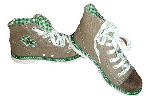 grün Boots Trachten Helloliv Jacky Grün braun xqxpIF
