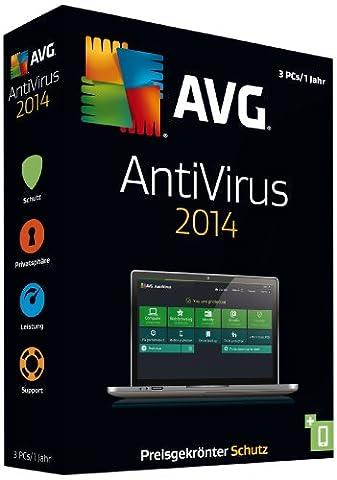 AVG AntiVirus 2014 – 3-Platz (Virenscanner Avg)