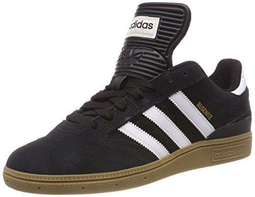 ab18107060105 adidas Men's Busenitz Skateboarding Shoes, Black Black1/Runwht/Metgol, 8 UK