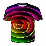 3D T-Shirt Print Lustige T-Shirts Männer Frauen Sommer Kurzarm Unisex T-Shirts 10 L
