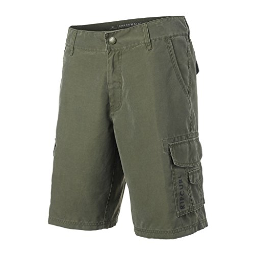 "Rip Curl Herren Joker Cargo 20"" Boardwalk Walkshort, Grape Leaf, 32"