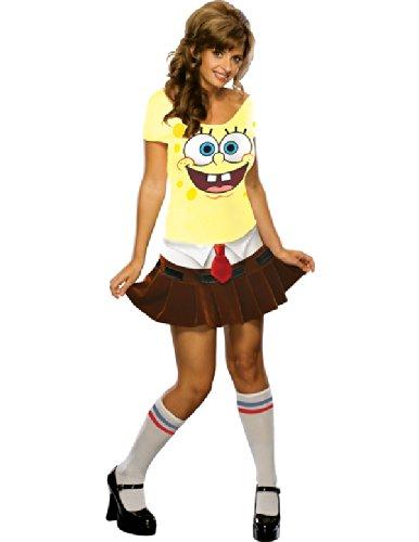 Sexy Spongebob Kostüm für Erwachsene - Spongebabe - Größe XS