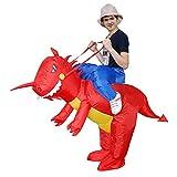 Jranter Aufblasbares T-Rex Dinosaurier Kostüm Cosplay Kleid