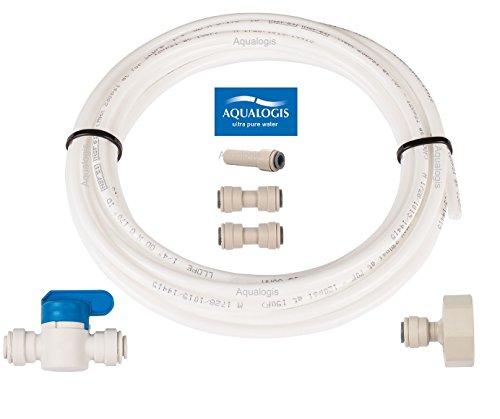 aqualogis Kühlschrank Anschluss-Set 6A für American Style Side by Side Whirlpool Ariston Hotpoint Amana Kühlschränke -