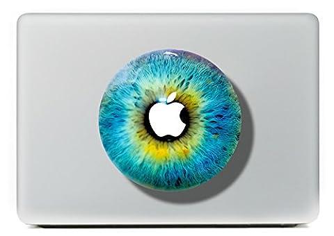 """MacBook Aufkleber, Chickwin Creative Pattern dekorativ Film Notebook Sticker Skin personalisierte Aufkleber MacBook Pro Air 13"""" Decal (Augen)"""