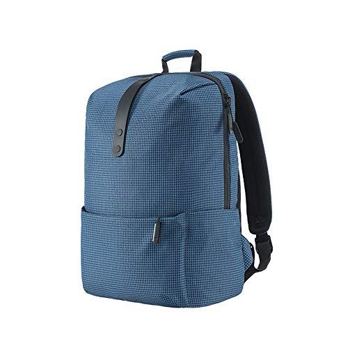 College Style Rucksack 15,6 Zoll Laptop Taschen große Kapazität 18L Schule für Frauen Männer Junge Mädchen Adrette blau 15,6 Zoll - Beste Rucksack Sprayer