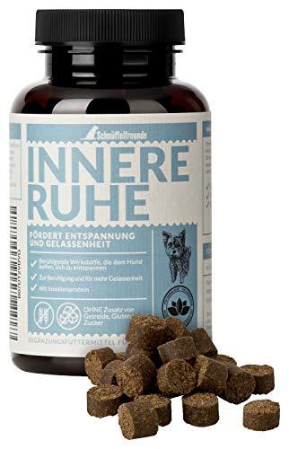 Schnüffelfreunde Innere Ruhe I Nahrungsergänzungsmittel für Hunde zur Beruhigung, gegen Angst, Anti Stress und für mehr Gelassenheit (150g - ca. 180 Stück)