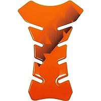 Quattroerre 18157 - Protector de depósito Tank Pad Adhesivo 3D para Moto, Naranja KTM