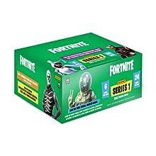 Panini 98204 Sammelkarten Fortnite, 24 Booster im Display, bunt