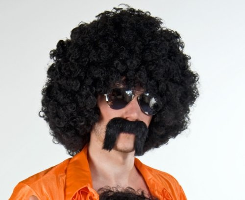 Festartikel Müller Zuhälter Bart Zubehör zum Kostüm an Karneval Fasching ()