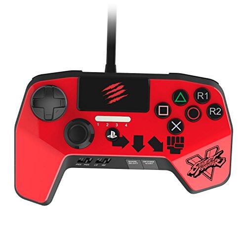 Mad Catz Street Fighter V FightPad Pro. Mando para videoconsola PlayStation 4 y PlayStation 3 - Rogo - Actualizado con las últimas innovaciones para juegos de lucha
