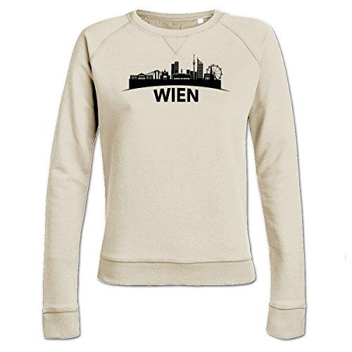Preisvergleich Produktbild Skyline Wien Frauen Sweatshirt by Shirtcity