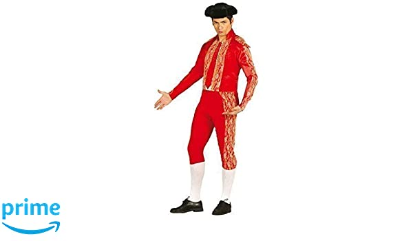 Mens Red Bull Fighter Spanish Matador Fancy Dress Costume Outfit (Medium)   Amazon.co.uk  Toys   Games 1df2c6f75066