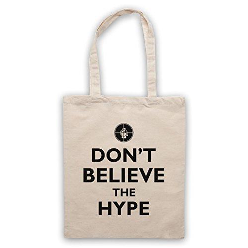 Inspiriert durch Public Enemy Don't Believe The Hype Inoffiziell Umhangetaschen Naturlich